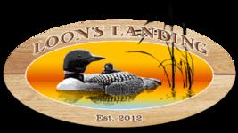 Loons Landing Logo